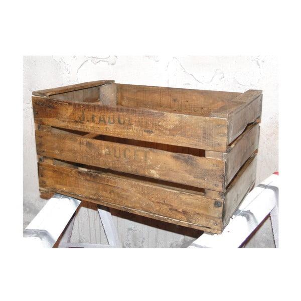 Drewniana skrzynka Antic Line Woodis
