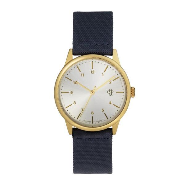 Morski zegarek z cyferblatem w srebrnej barwie CHPO Rawiya