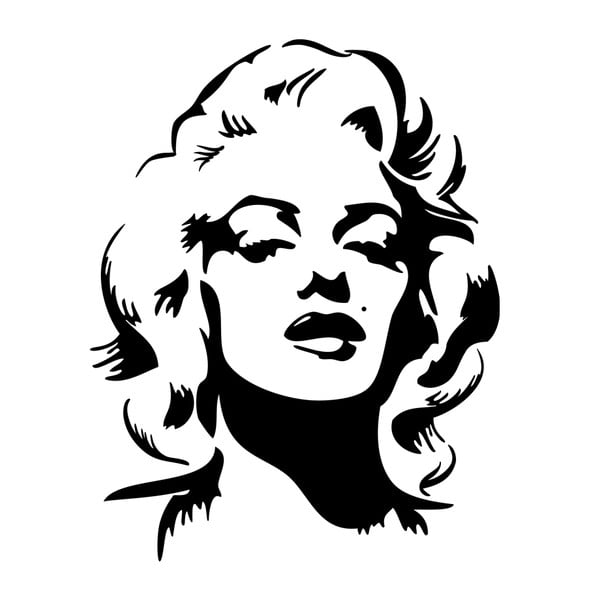 Naklejka Marylin Monroe Portrait