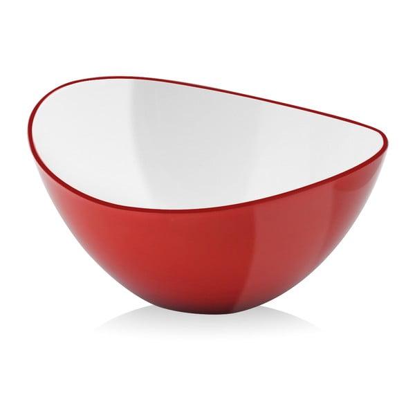 Miska do sałatek Livio, 25 cm, czerwona