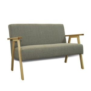 Szara sofa Sinkro Retro
