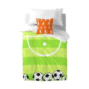 Poszwa na kołdrę i poduszkę Football, 140x200 cm