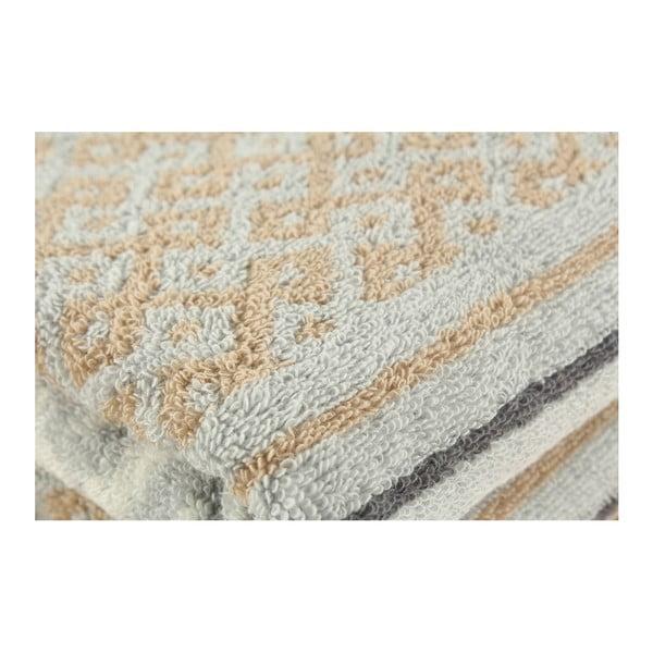 Zestaw 2 ręczników Marocco Grey, 50x100 cm