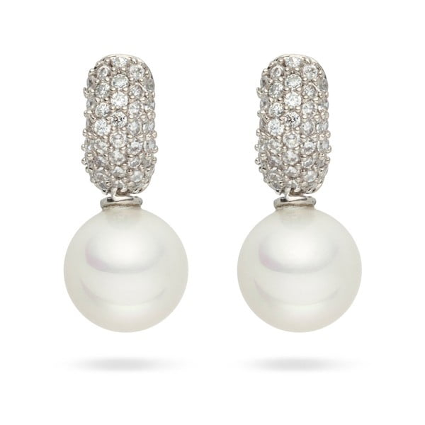 Kolczyki Nova Pearls Copenhagen Helene White