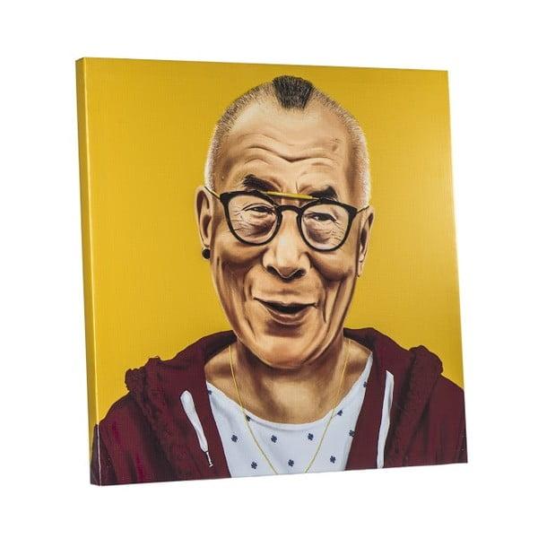 Obraz Dalai Lama, 80x80 cm