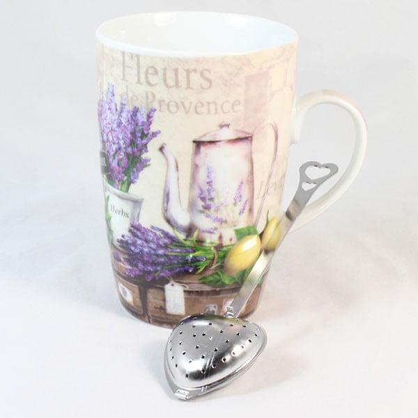 Kubek z sitkiem Fleur de Provence