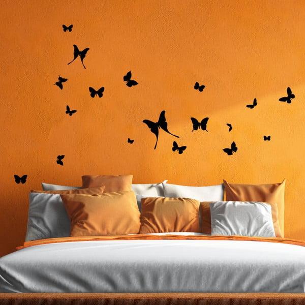Naklejka 18 Butterflies