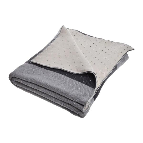 Koc Grey Strips, 150x170 cm