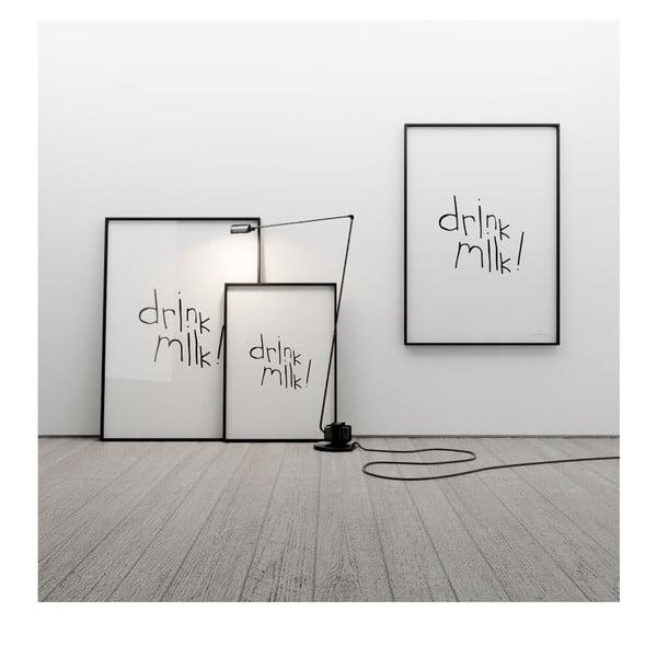 Plakat Drink milk, 100x70 cm