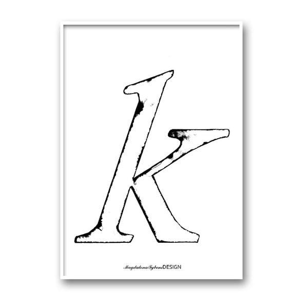 Plakat autorski Karlek, A4