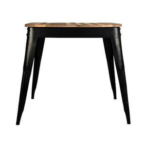 Stół z blatem z drewna mangowca LABEL51 Luik, 75x75 cm