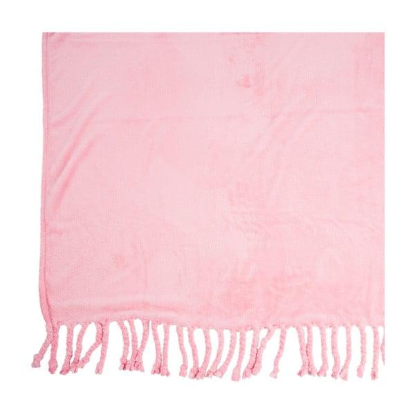 Zestaw 2 pledów Pink, 127x152 cm