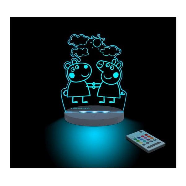 Dziecięca lampka nocna LED Aloka Peppa Pig Suzy