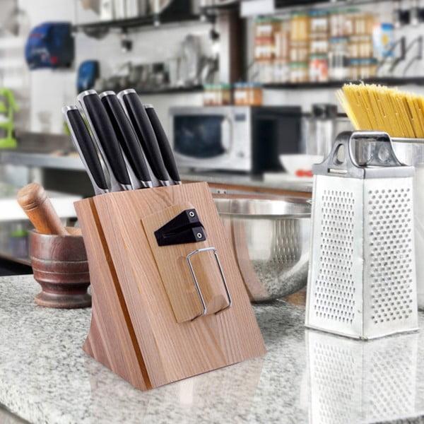 Zestaw 5 noży w bloku Krauff Chef