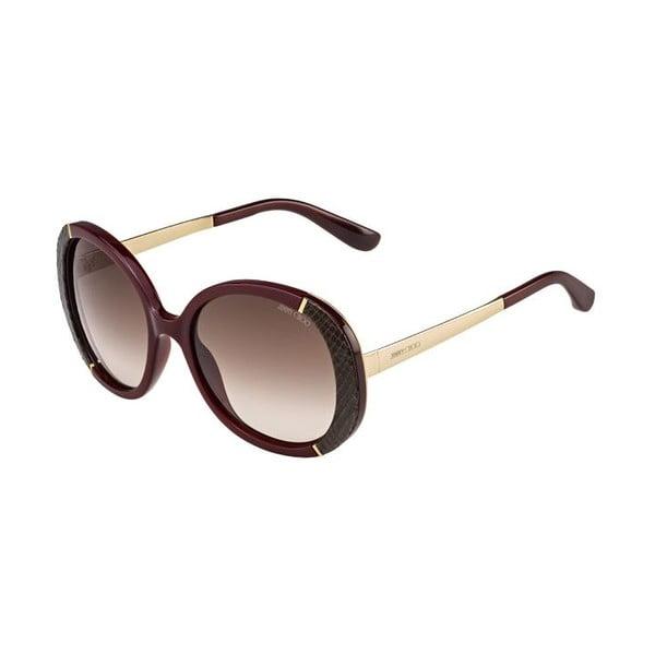 Okulary przeciwsłoneczne Jimmy Choo Millie Rose Gold/Brown
