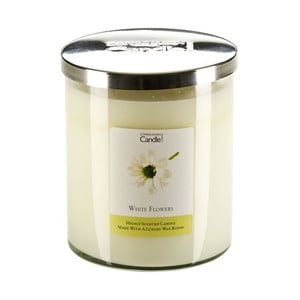 Świeczka zapachowa White Flowers, czas palenia 70 godzin