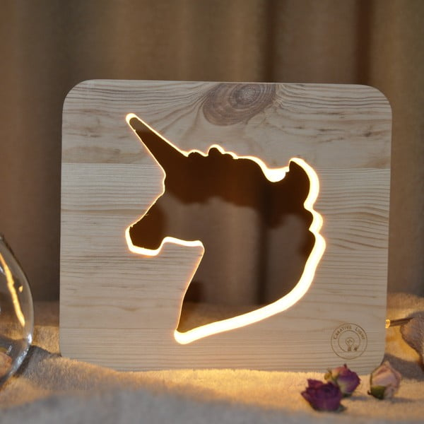 Lampka dziecięca Creative Gifts Unicorn