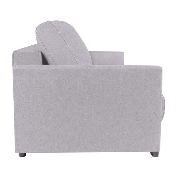 Jasnoszara 3-osobowa sofa rozkładana Melart Giovanni