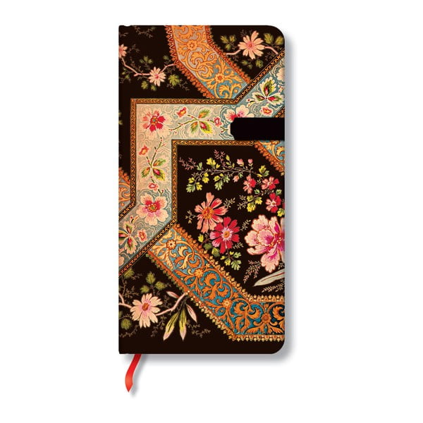 Notes Filigree Floral Ebony Slim