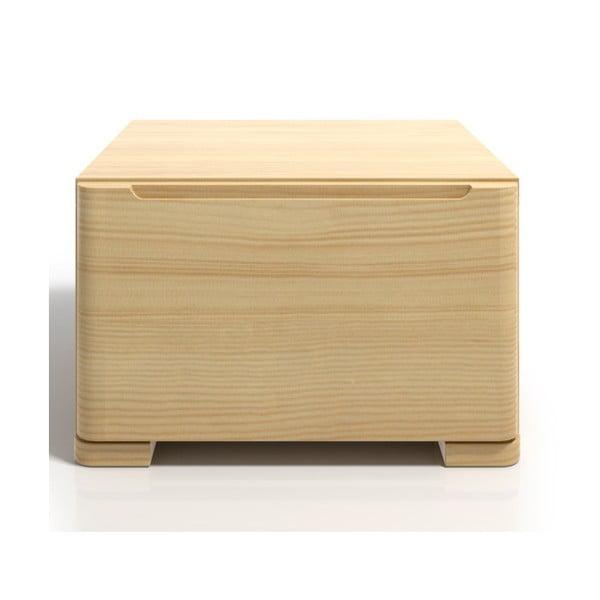 Szafka nocna z drewna sosnowego z szufladą SKANDICA Sparta