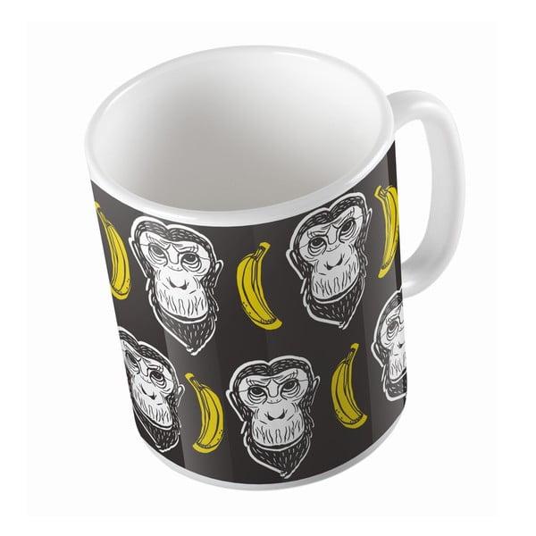 Kubek ceramiczny My Buddy Monkey, 330 ml