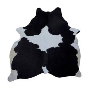 Czarno-biała skóra bydlęca, 186x165 cm