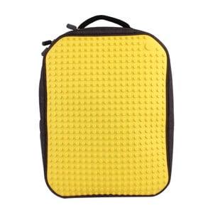 Plecak Pixelbag, czarny/żółty