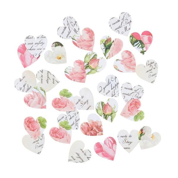 Zestaw 100 dekoracji papierowych Talking Tables Blossom