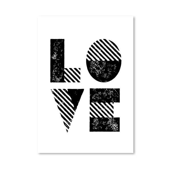 "Plakat ""Love Old Style"", 42x60 cm"
