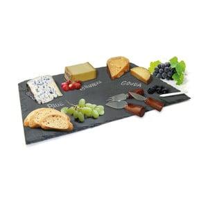 Komplet deski łupkowej i wykałaczek na sery Vin Bouquet Cheese