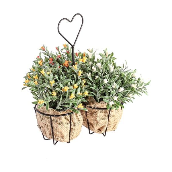 Sztuczne kwiatki na stojaku Corta