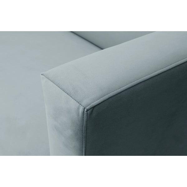 Jasnoszara sofa 2-osobowa Windsor & Co Sofas Neptune