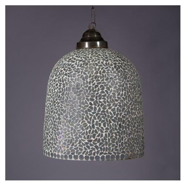 Lampa wisząca Biała mozaika