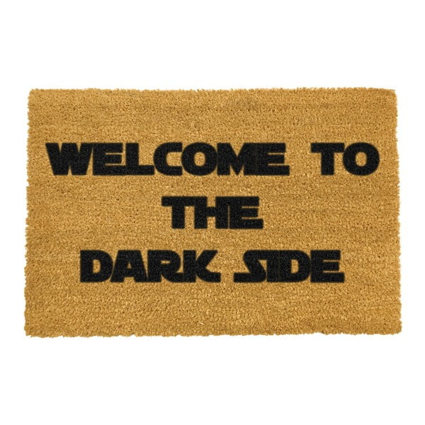 Wycieraczka Artsy Doormats Welcome to the Darkside, 40x60 cm