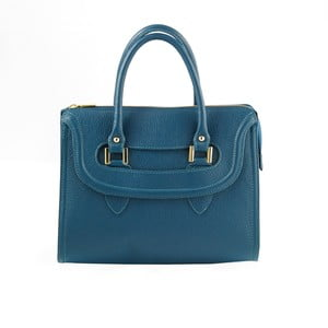Skórzana torebka Andrea Cardone 946 Blue Green