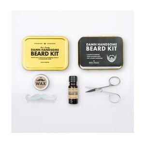 Podróżny zestaw do pielęgnacji brody Men's Society Handsome Beard Grooming