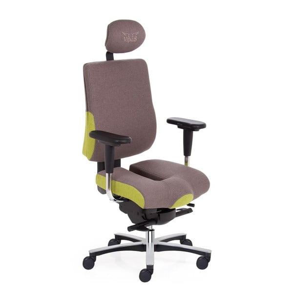 Krzesło biurowe Vitalis Balanc XL Airsoft, zielone