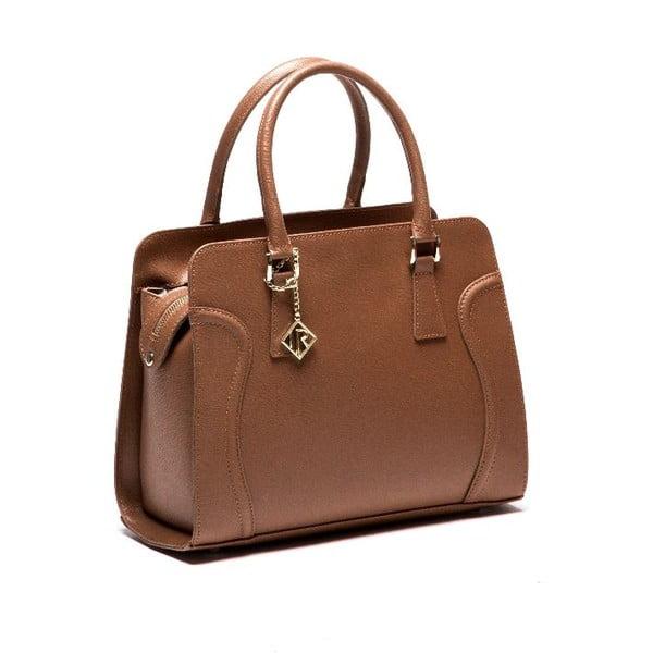 Skórzana torebka Isabella Rhea 427 Cognac