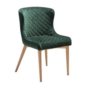 Tmavě zelená jídelní židle DAN-FORM Denmark Vetro