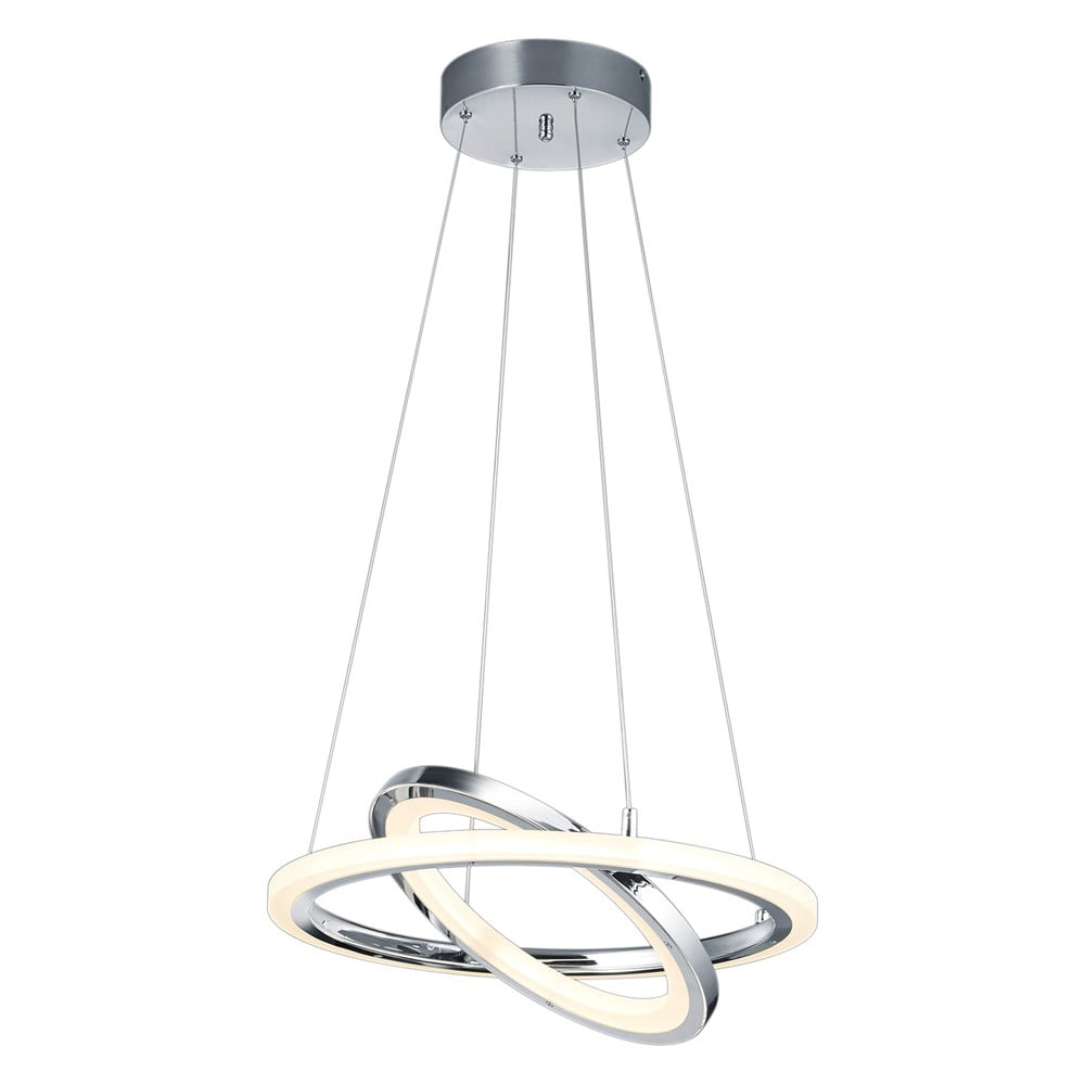 Lampa wisząca LED Trio Saturn, wys. 1,3 m
