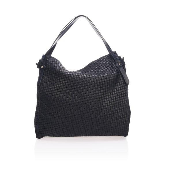 Czarna torebka skórzana Markese Giacinto