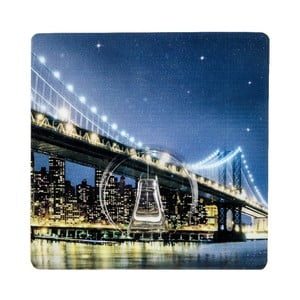 Wieszak z przyssawkami Static-Loc Brooklyn Bridge, do 8 kg