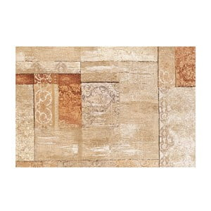 Winylowy dywan Patchwork Beige, 100x150 cm
