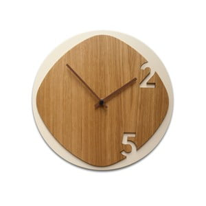 Zegar Clock25 Light Wood