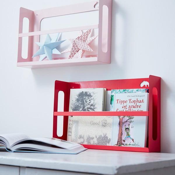 Półka na książki Deer, jasnoróżowa