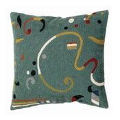 Poszewka na poduszkę Teal Ribbon, 45x45 cm