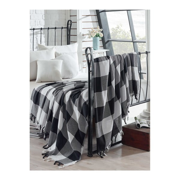 Lekka narzuta bawełniana na łóżko Luka, 200x240 cm