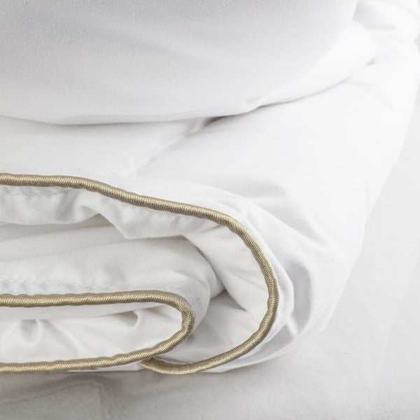 Kołdra wypełniona pierzem Velvet, 200x220 cm