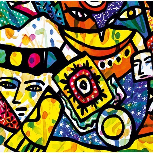 Obraz Postmodernizm, 60x60 cm