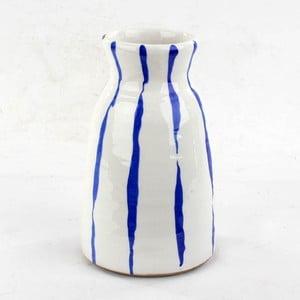 Ceramiczny wazon Blue Colour, 25 cm